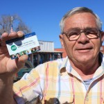 Larry Leetch, a member of SSVEC with the Co-op Connections Card, a member-benefit card provided by Touchstone Energy that's saved members across the nation more than $55 million on medical prescriptions.